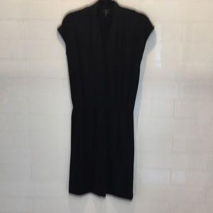Talbots black cap sleeve dress. Size Small petite